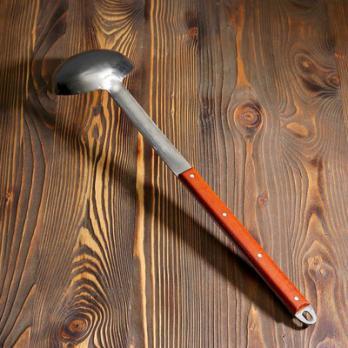 Половник узбекский с деревянной ручкой 64см