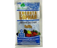 Борная кислота 10 грамм (250)