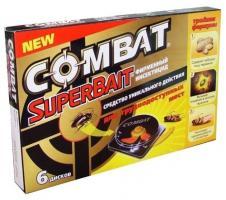 Ловушка от тараканов Combat (6 штук) (12)