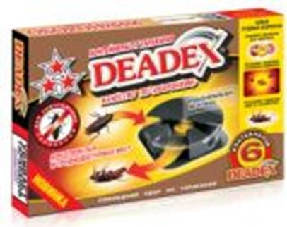 Ловушка от тараканов Deadex (6шт) (36)