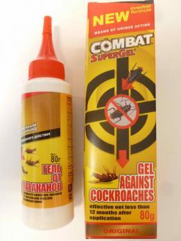 Гель Combat от тараканов (80 грамм) (20)