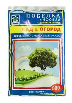 Побелка на клеевой основе садовая 500 грамм (15)
