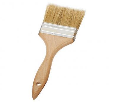 Кисть с деревянной ручкой 60мм