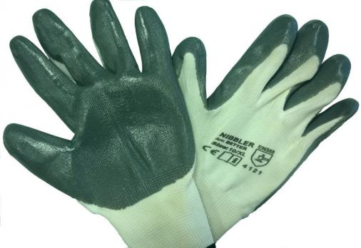Перчатки нейлон с нитрилом (12)