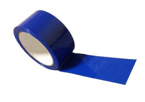 Скотч синий 48мм 40м (36)