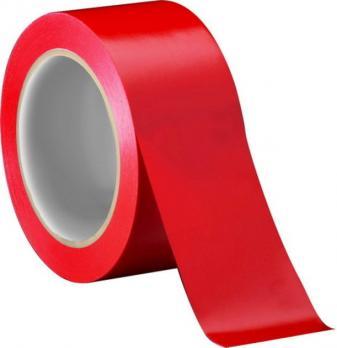 Скотч красный 48мм 40м (36)
