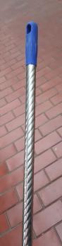 Черенок для швабры металлический (130см)
