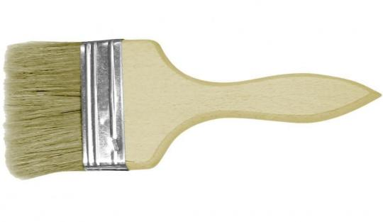 Кисть с деревянной ручкой 75мм (10)