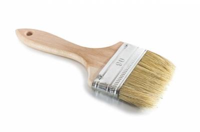 Кисть с деревянной ручкой 90мм