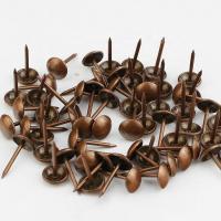 Гвозди мебельные  (медь, 100шт)