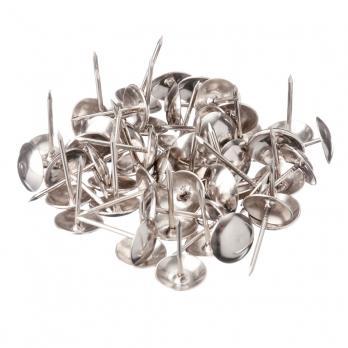 Гвозди мебельные (серебро, 100шт)