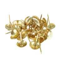 Гвозди мебельные (золото, 100шт)