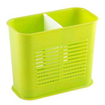Подтавка пластиковая под столовые приборы 2 секции