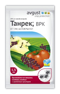 Танрек 1,5мл от тли и белокрылки (200) (Август)